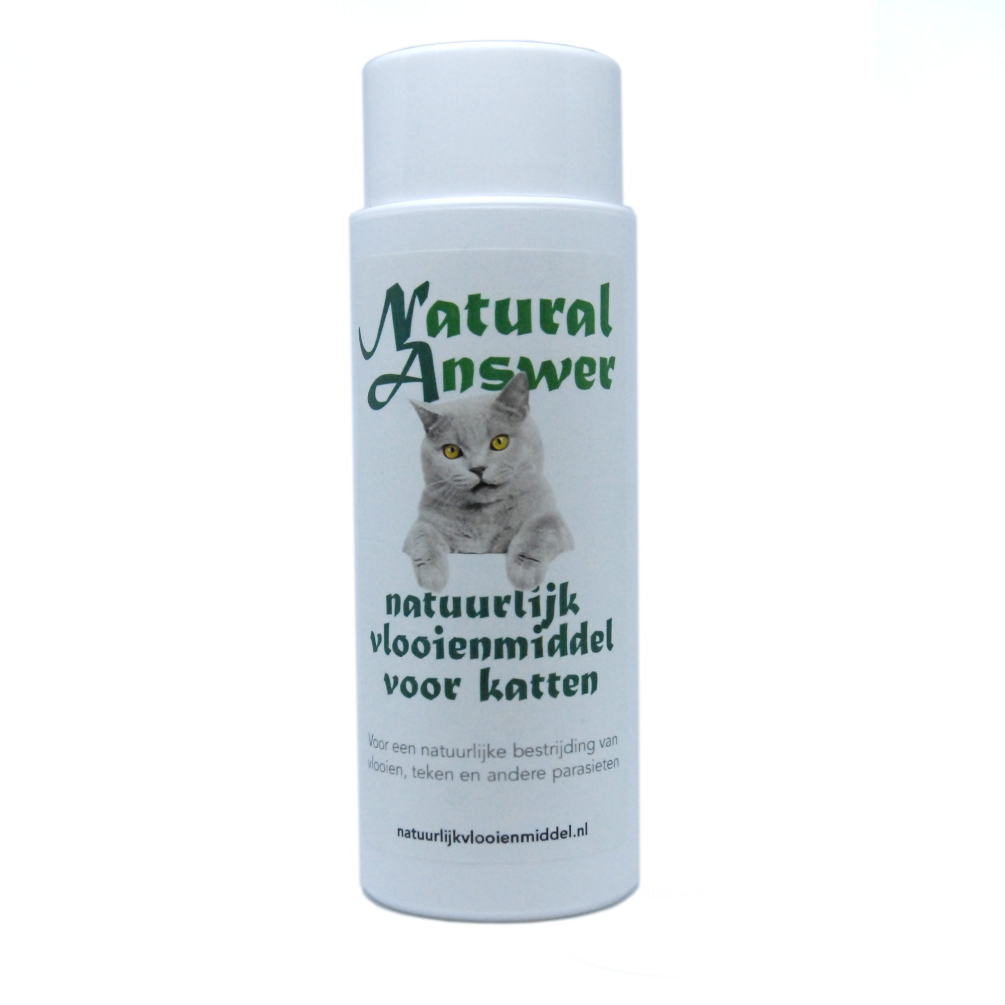 Natuurlijk middel tegen vlooien en teken voor katten