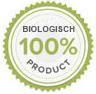 Alle plantaardige ingrediënten zijn 100% biologisch geteeld.