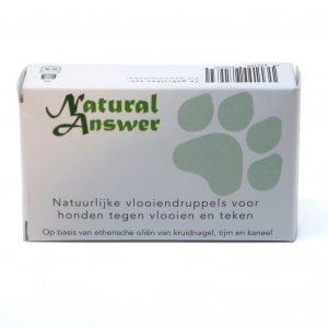 Natuurlijke vlooiendruppels voor honden | Natural Answer