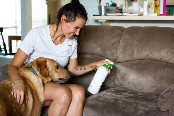 Deze natuurlijke spray is ook geschikt voor meubels en ligplekken